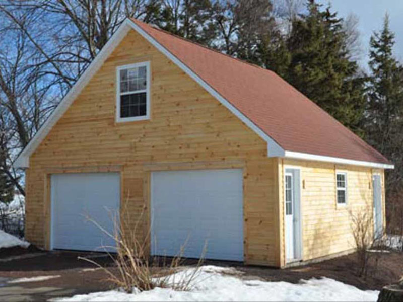 Garages chalets garage personnalis chalet ecurie for Isoler toit garage